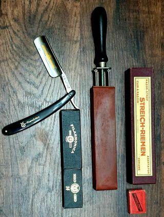 Navaja afeitar Filarmónica original ( Más de Coleccionismo en mi perfil