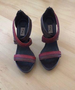 Sandalias tacón nuevas