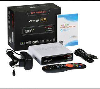 Gts media 4k decodificador