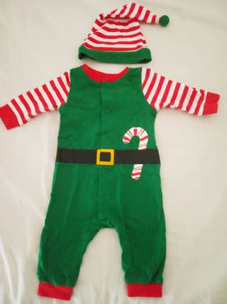 disfraz elfo bebe