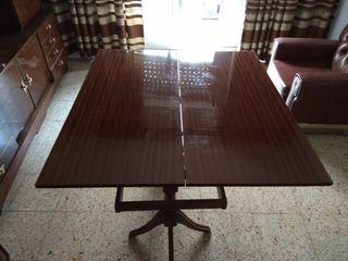 Mesa de salón plegable