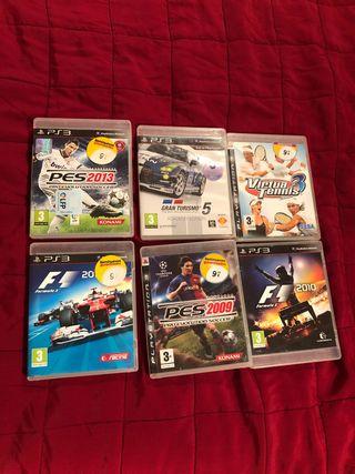 Wii y PS3 pack consolas, juegos y mandos