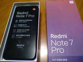 Xiaomi Redmi Note 7 Pro 6GB Nuevo + funda nillkin