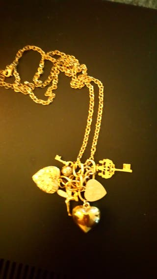 Vivieene Westwood Charm Necklace..