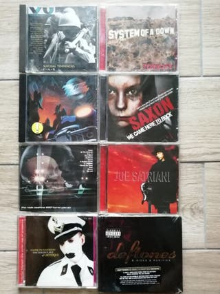 cds heavy hardrock punk