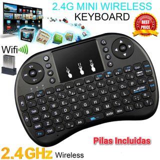 Mini teclado para Smart TV - TVBox Android con ratón táctil