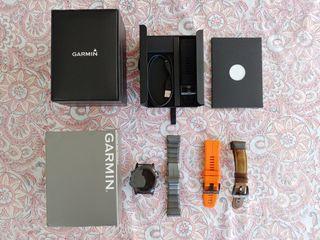 Garmin fenix 5x plus Titanio DLC, Zafiro. Garantía