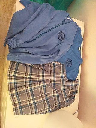 Conjunto de uniforme Colegio El Sifon