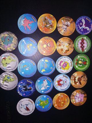 Tazos Pokemon Stickers
