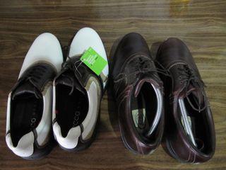 2 pares de zapatos golf sin extrenar del numero 43