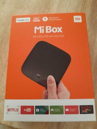 Xiaomi Mi Box 4K Ultra HDR.