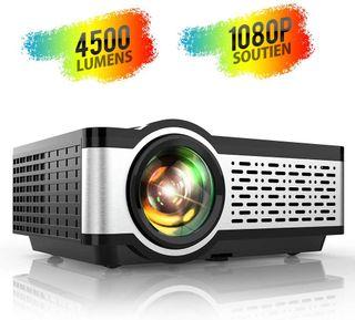 Proyector LED TOPTRO 4500 LUMENS 2 HDMI, VGA, RCA