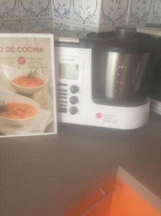 Termomix, robot cocina monsieur cuisine nuevo