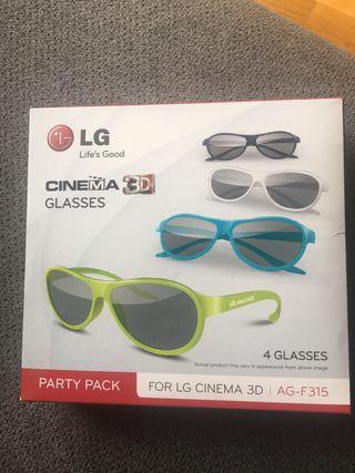 Gafas para ver en 3D