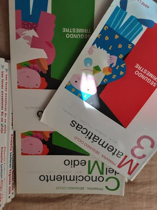 Libros 3* primaria.