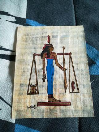 Papiro egipcio original
