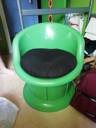 silla con cajon