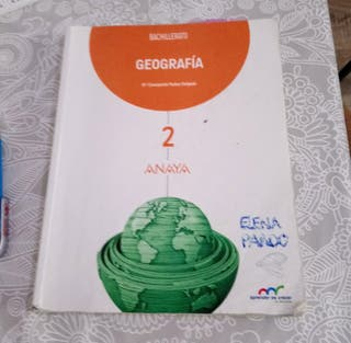 libro geografia bachiller