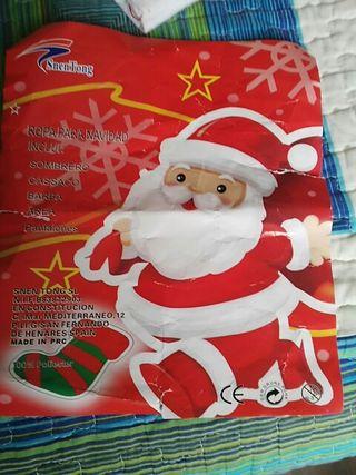 Traje Papa Noel
