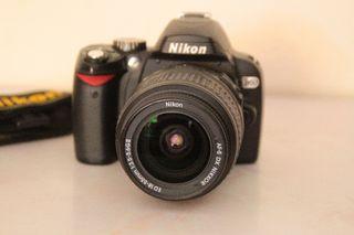 Nikon D60 Seminueva