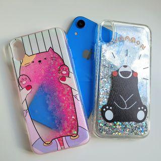 Funda con purpurina para iPhone XR
