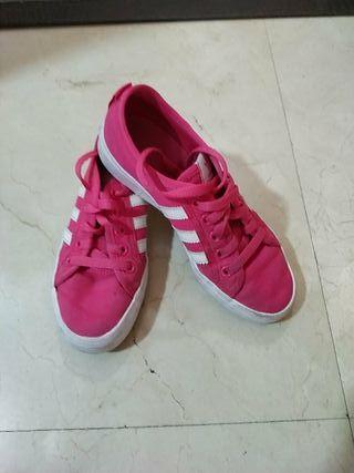 Zapatilla Adidas Rosa Num 35'5