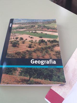 busco libro de Geografía bachilerato/ prueba acces