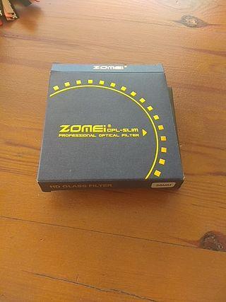 Filtro polarizador 58mm