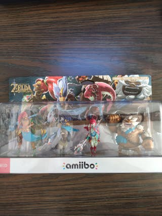 Amiibo Zelda Urbosa, Revali, Daruk y Mipha