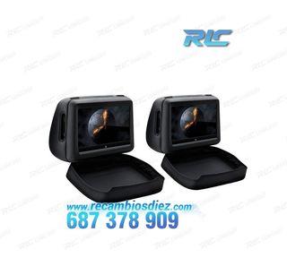 PAREJA DE REPOSACABEZAS CON DVD Y HDMI LCD 10,1 10