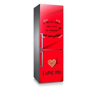 Vinilo adhesivo frigorífico decoración cocina