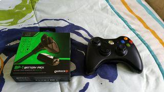 Mando para Xbox 360-Pc inalámbrico y Battery pack