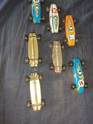 lote de coches de chapa