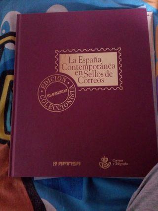la España contemporánea en sellos