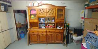 Mueble Rústico macizo comedor o cocina grande