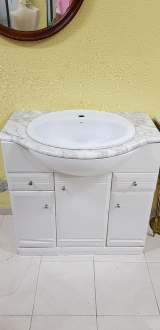 mueble con lavabo