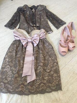 Vestido de el vestidor de Lulú y zapatos