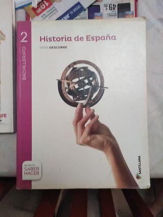 libro de historia de segundo de bachillerato