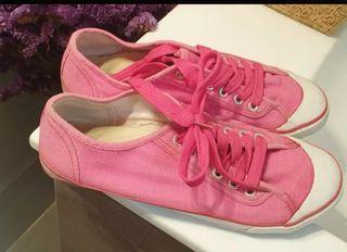 Zapatillas lona rosa Maripaz