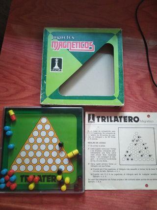juegos magnético rima trilatero