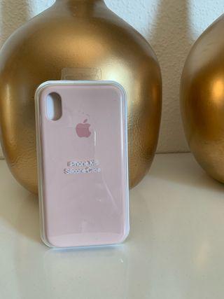 Funda iPhone XR rosa palo