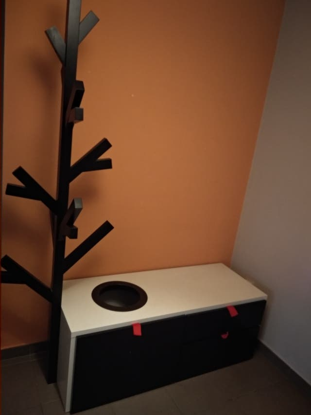 Mueble perchero Ikea PS