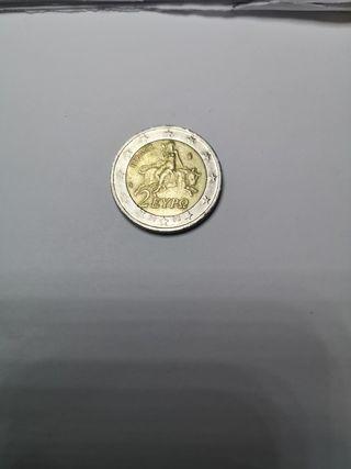 2 euros conmemorativos Grecia 2002