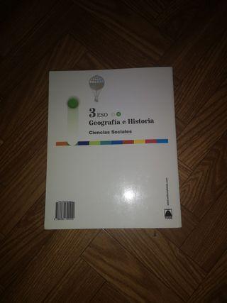 libro GEOGRAFÍA E HISTORIA 3 ESO TEIDE