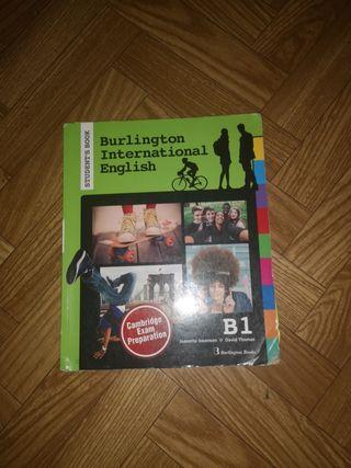libro STUDENT'S BOOK B1 BURLINGTON INTERNATIONAL