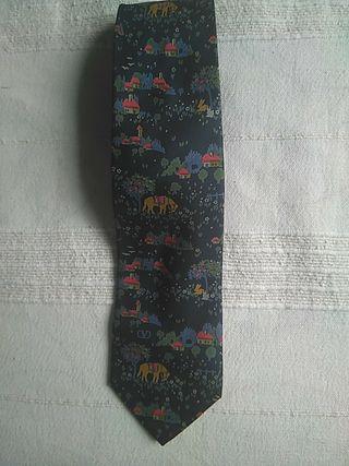 corbata de seda de Valentino Cravatte