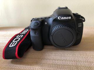 CANON 60 D cuerpo cámara dslr reflex