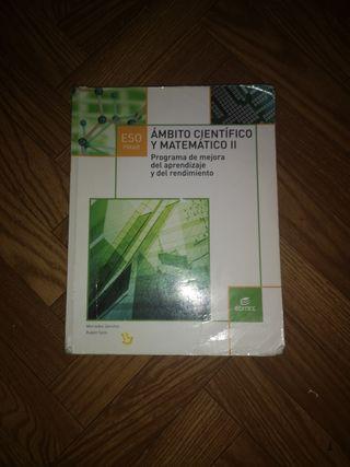 libro PMAR AMBITO CIENTÍFICO Y MATEMÁTICO II EDITE