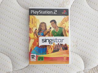 Singstar Latino PS2