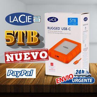 Lacie RUGGED 5TB CONEXIÓN USB_C